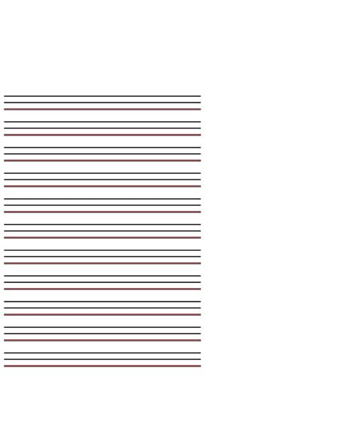 paper l template exles of lined paper template free