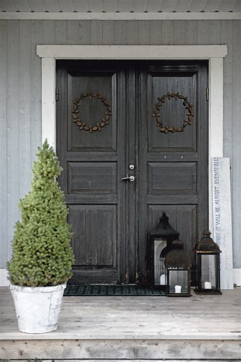 Decordots House Tour Exterior Door Decor