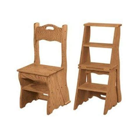 Library Chair Step Stool by Library Chair Step Stool Plans Woodworking Projects Plans