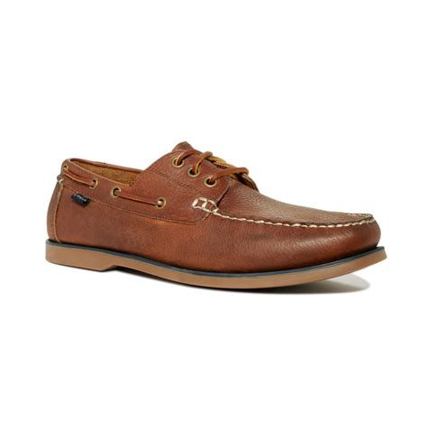 polo bienne boat shoe tan polo ralph lauren bienne tumbled leather boat shoes in
