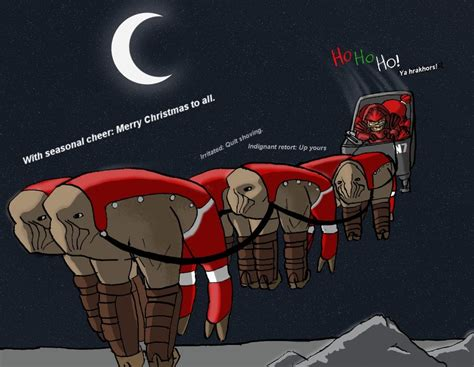 Krogan Meme - krogan christmas cheer by indigowolfe on deviantart