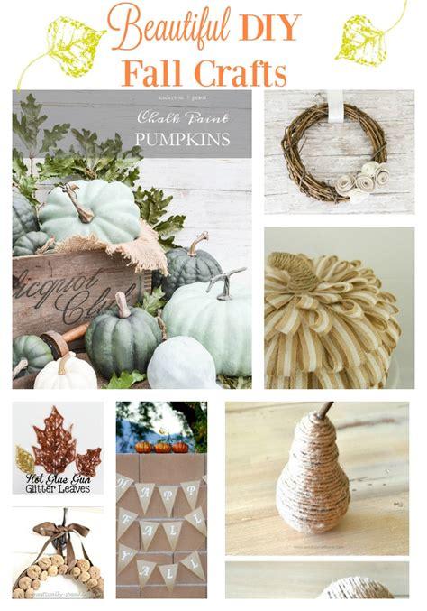 beautiful diy fall crafts