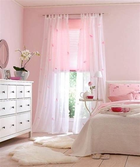 Decoration ideas beautiful bedroom design with cozy blanket and pink pillows also white dresser