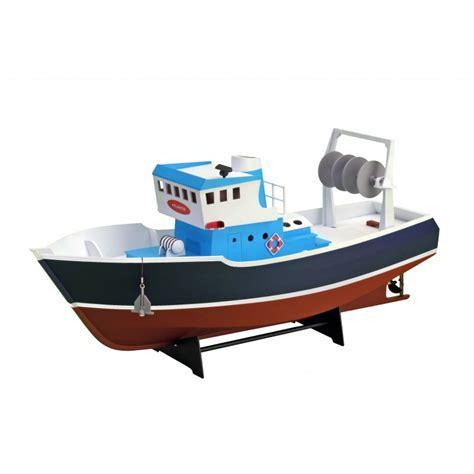 rc wooden fishing boat wooden model ship kit tug fishing boat atlantis 1 15