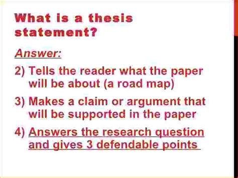 How To Make Thesis Statement For A Research Paper - thesis statement maker research paper