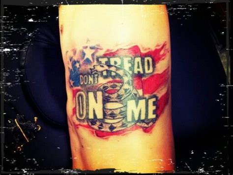 tattoo don t tread on me semper fidelis tattoos