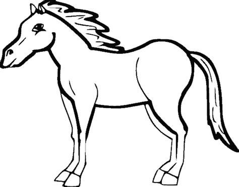 you can print drawingshapes horse coloring page 610410