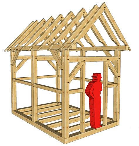 Timber Garden Shed Plans