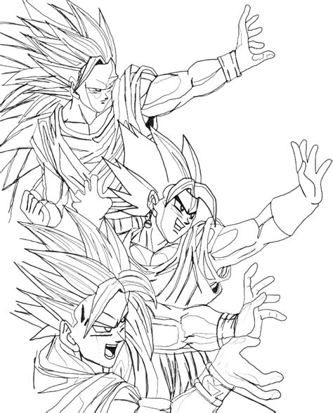 goku super saiyan coloring pages coloring pages