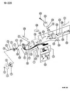 Jeep Yj Steering Column Parts Jeep Wrangler Steering Column Car Interior Design