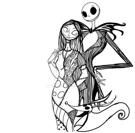 Free Nightmare Before Christmas Coloring Pages Printable Nightmare Before Coloring Pages For Adults