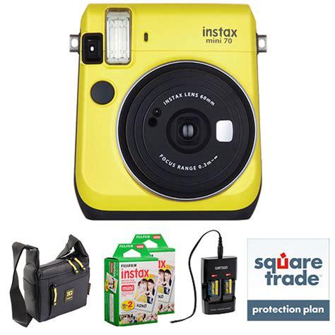 Fujifilm Instax Mini 70 Instant fujifilm instax mini 70 instant deluxe kit b h