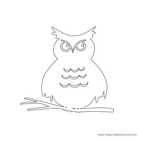printable owl stencils printable owl stencils