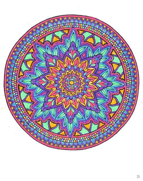 mystical mandala coloring book 0486456943 the world s catalog of ideas