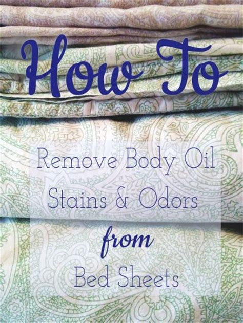How To Remove Stains From Mattress With Vinegar by How To Remove Oils Stains And Odors From Bed Sheets