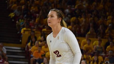 house of sparky asu volleyball macey gardner added onto the sun devil coaching house of sparky