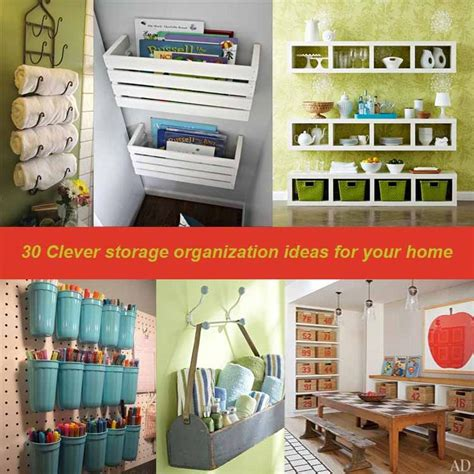 30 Clever Bedroom Storage Ideas For Organization 30 Clever Storage Organization Ideas For Your Home Best