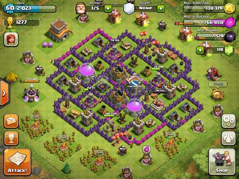Coc bases clash of clans help