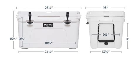 dimensions of a 35 quart yeti cooler yeti tundra 45 cooler review