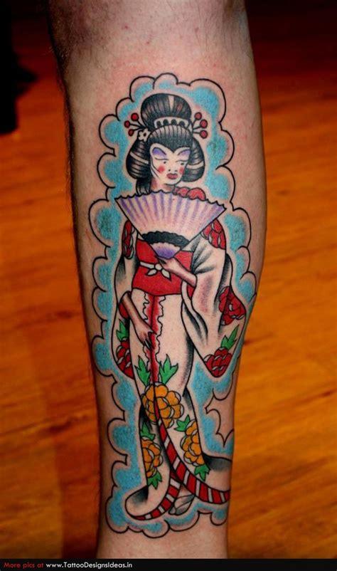 geisha traditional tattoo flash cool geisha disign part 3 tattooimages biz