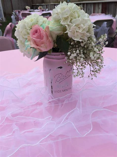 Shabby Chic Baby Shower Centerpieces by Shabby Chic Baby Shower Baby Shower Ideas