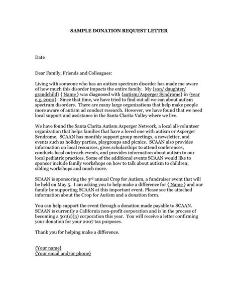 charity grant letter 10 best donation letters images on