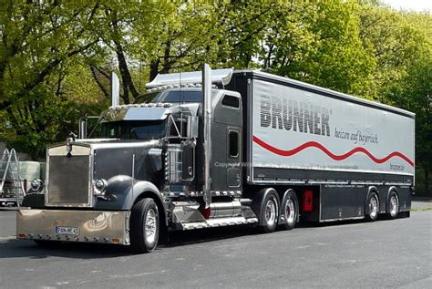 kenworth trucks deutschland kenworth w900 brunner eggenfelden bayern germany