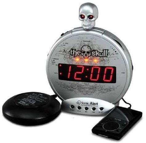 sonic boom skull alarm clock for sale free shipping