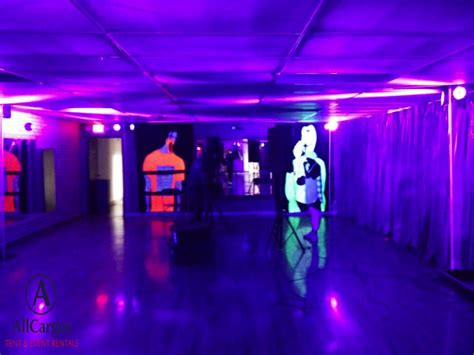 Black Light Rental allcargos tent event rentals inc glow in the uv