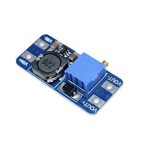 Dc Dc Step Up Power 2a Module Mt3608 Power Booster Dc To Dc 5pcs mt3608 2a dc dc step up power apply module booster