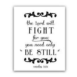 typography print of bible verse of courage by