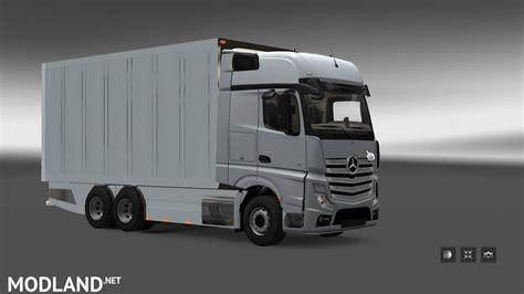 mega truck 4 mercedes mp4 mega mod for 1 24 mod for ets 2