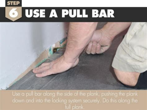 How to Install the Last Row of Laminate Flooring