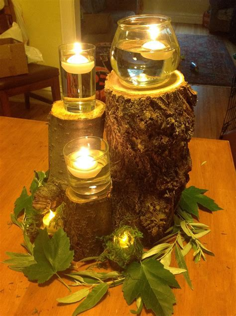 DIY Enchanted Forest centerpieces in 2019   Future Wedding