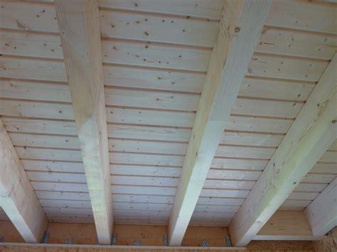Holzdecke Lackieren Oder Lasieren by Unser Eichh 246 Rnchen Haus Rohbau Zwischendecke