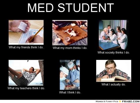 med student meme generator what i do med student