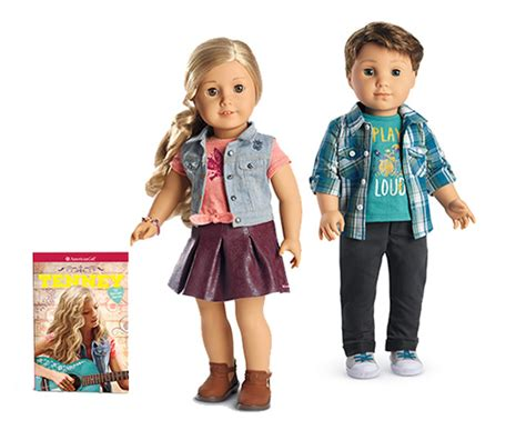 American Girl Doll Sweepstakes 2017 - make music from straight from the heart with tenney and logan the toy insider