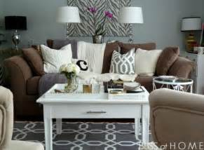 Brown And White Home Decor by Grey Lamps Grey And Tables On Pinterest