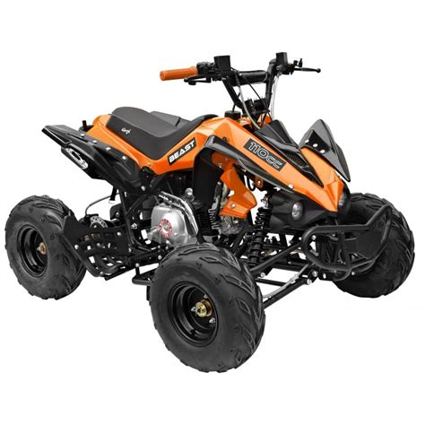Mini Motorrad Orange by Gmx The Beast Sports Quad Bike 110cc Orange
