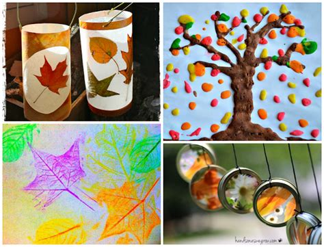 autumn craft projects fall leaf crafts for to make crafty morning