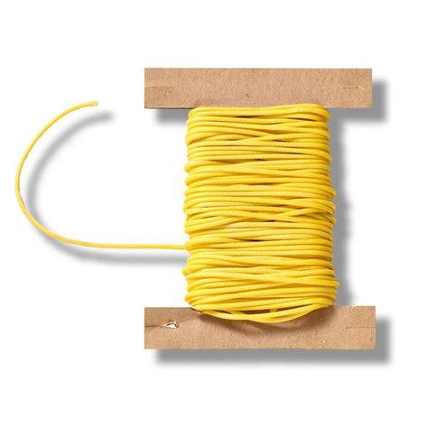 jalousie gelb 10 meter jalousien zugschnur gelb 1 3 mm