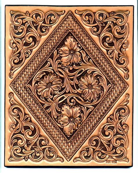 Carving Leather western leather carving patterns
