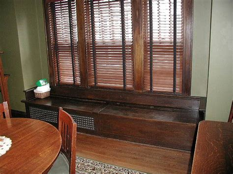 Dining Room Window Seat by Dining Room Window Seat Historical