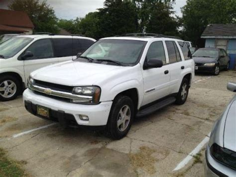 2003 chevy trailblazer lt find used 2003 chevrolet trailblazer lt in 5198 lafayette