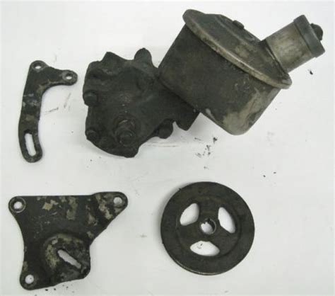 scow pump 1963 1964 ford falcon comet fairlane eaton power steering