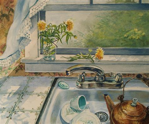 Kitchen Sink Paint by Kitchen Sink Painting By Nichols