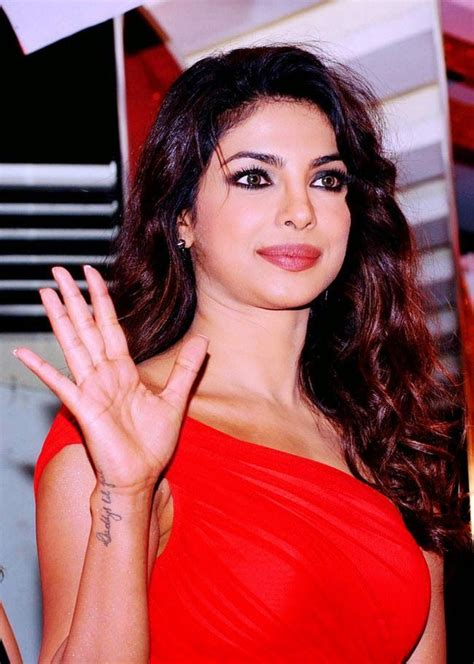 priyanka chopra has done tattoo on his hand daddy s lil