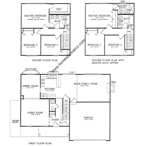 arbor homes floor plans arbor model in the savanna springs subdivision in lake villa illinois homes by marco