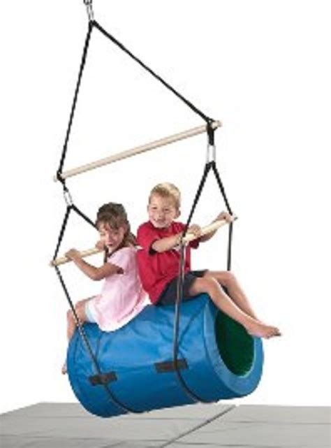 therapeutic swing 3 in 1 versatile barrel swings for play therapy