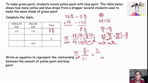 how to do ratio tables equivalent ratios total quantity